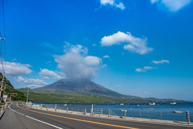 桜島へは鹿児島市内からすぐに行ける