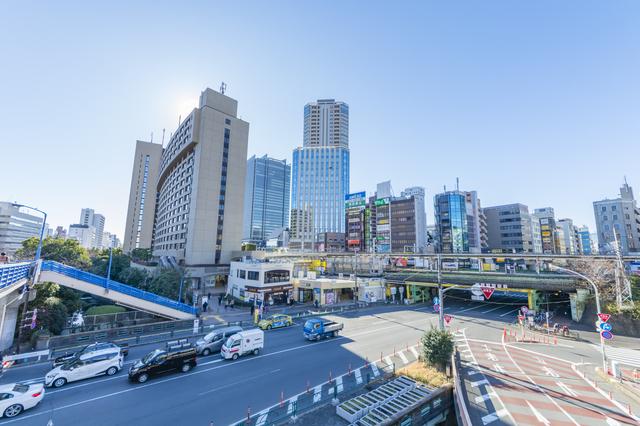 飯田橋駅付近