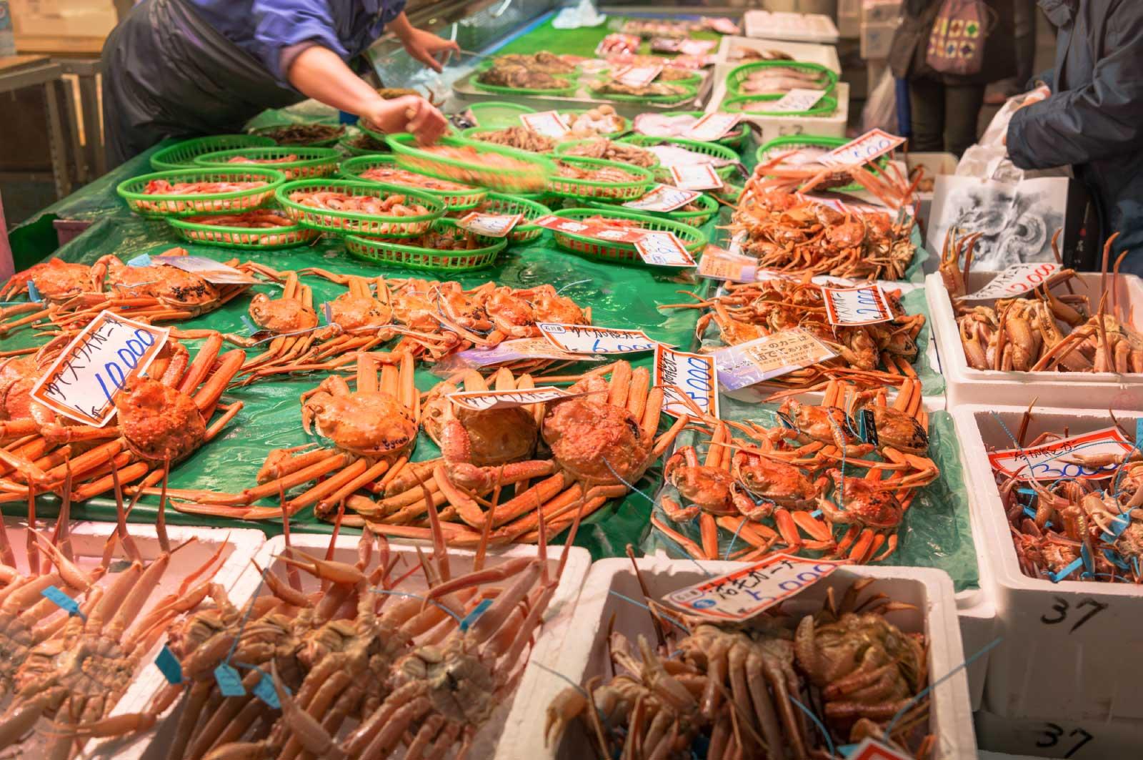 食材を調達しに必ず行く場所が金沢にあります