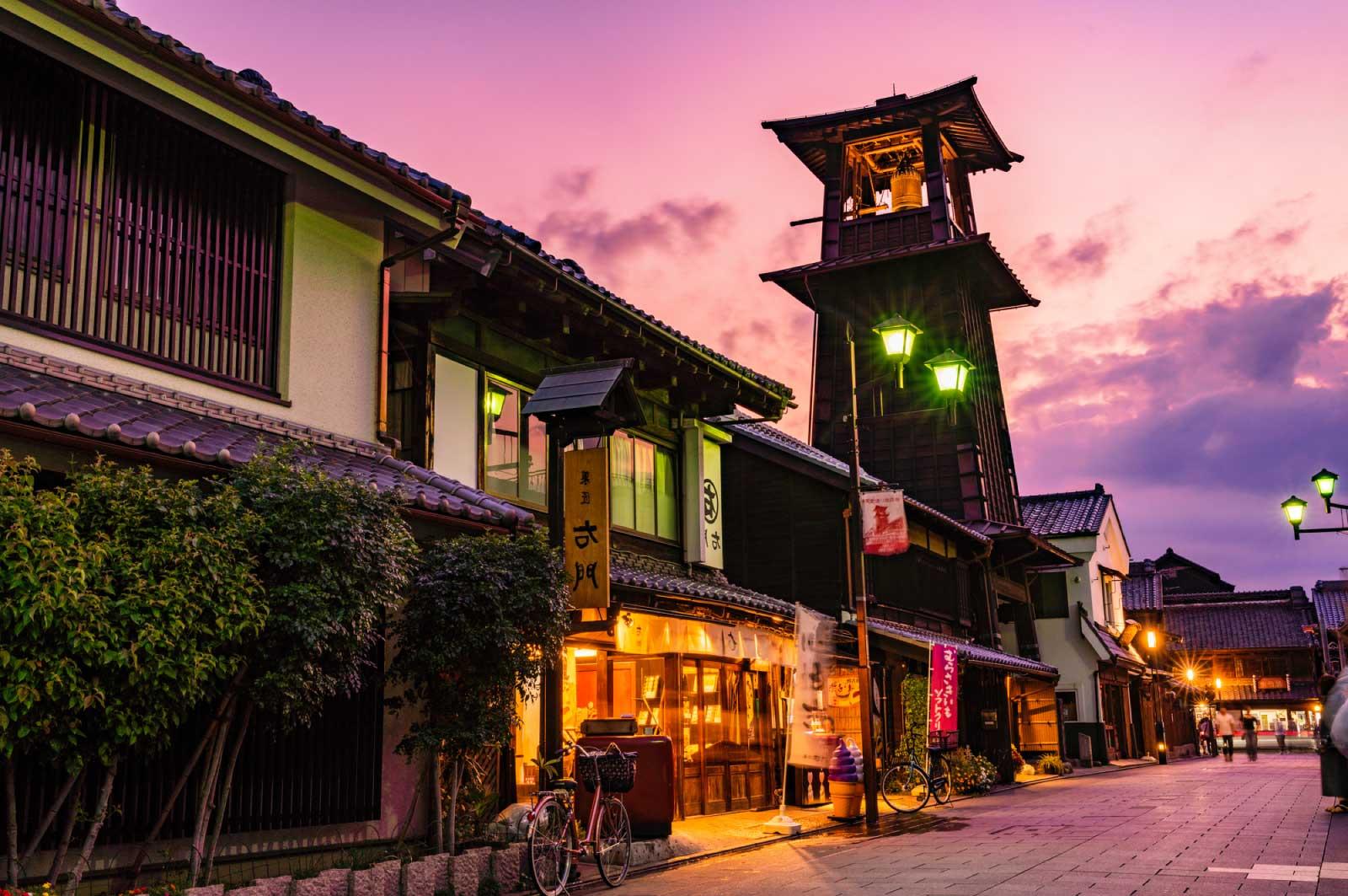 川越といえば、かつては小江戸と呼ばれ栄えた町