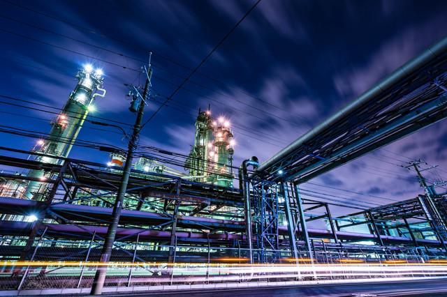川崎の工場夜景は結構近くまで行ける