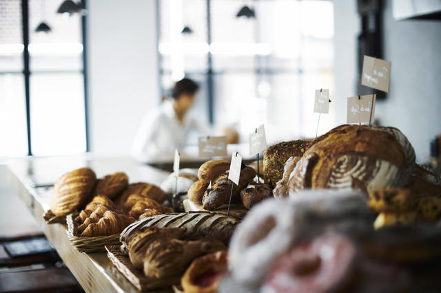 美味しいパン屋さんを見つける