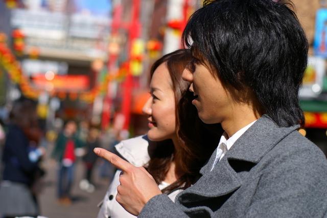 中華街グルメを求めてブラブラ
