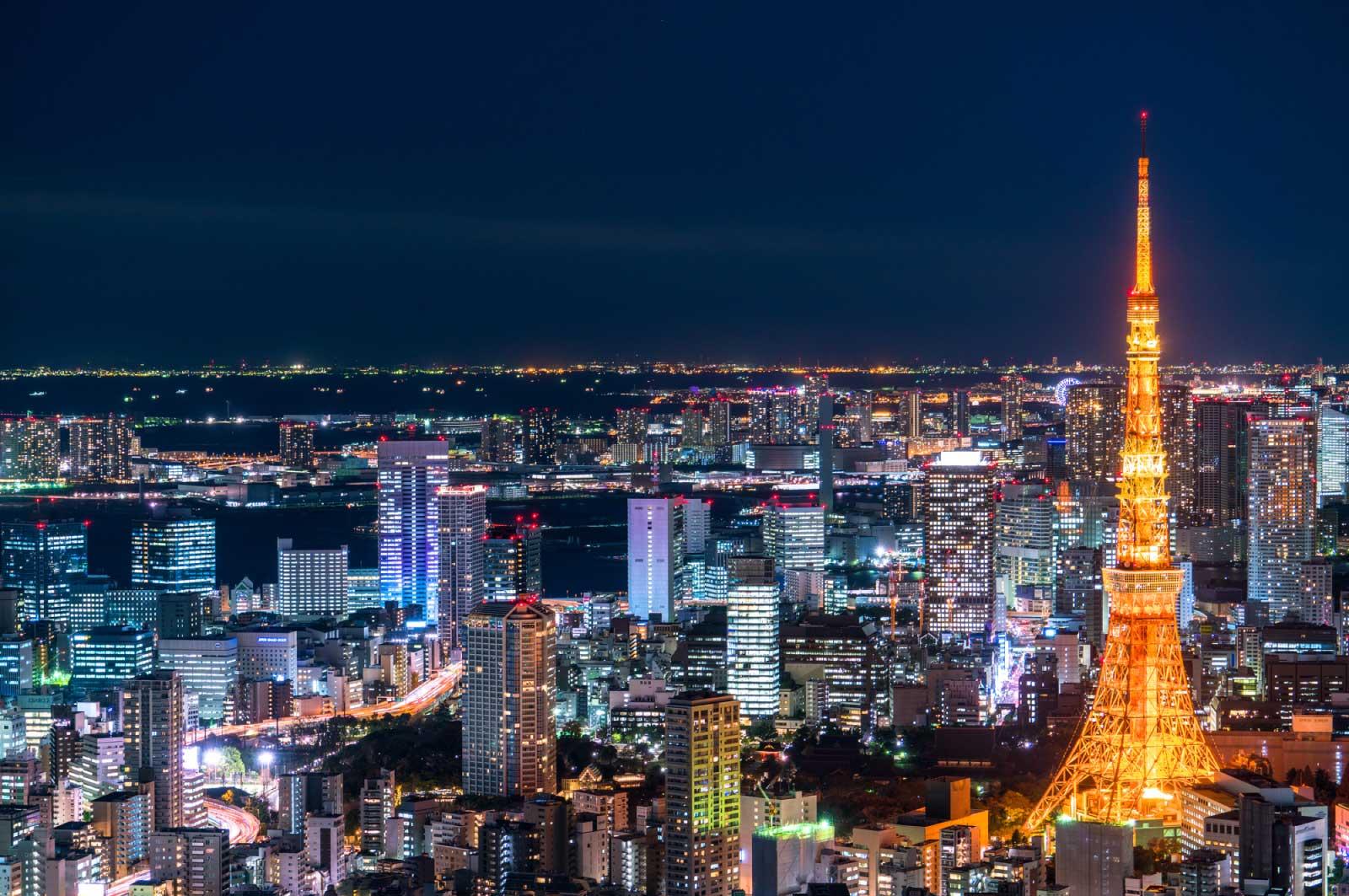 東京では満点の星空って、見れない