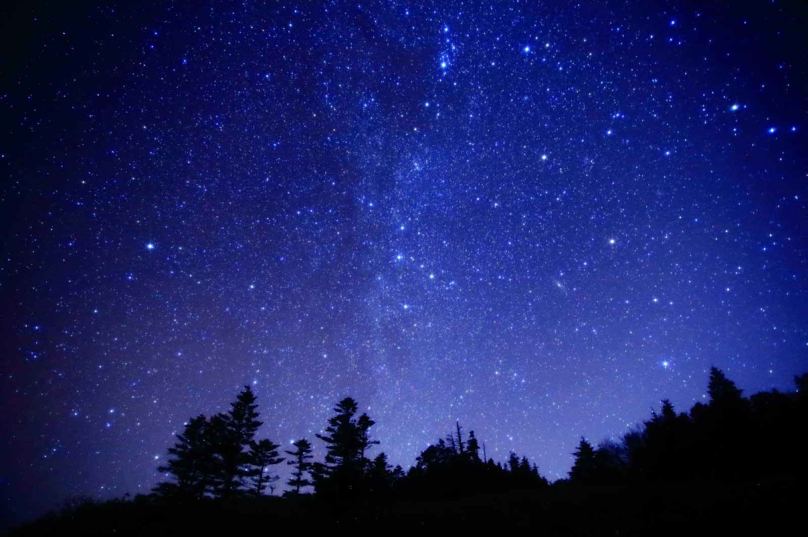 長野に行ったときに見た星空
