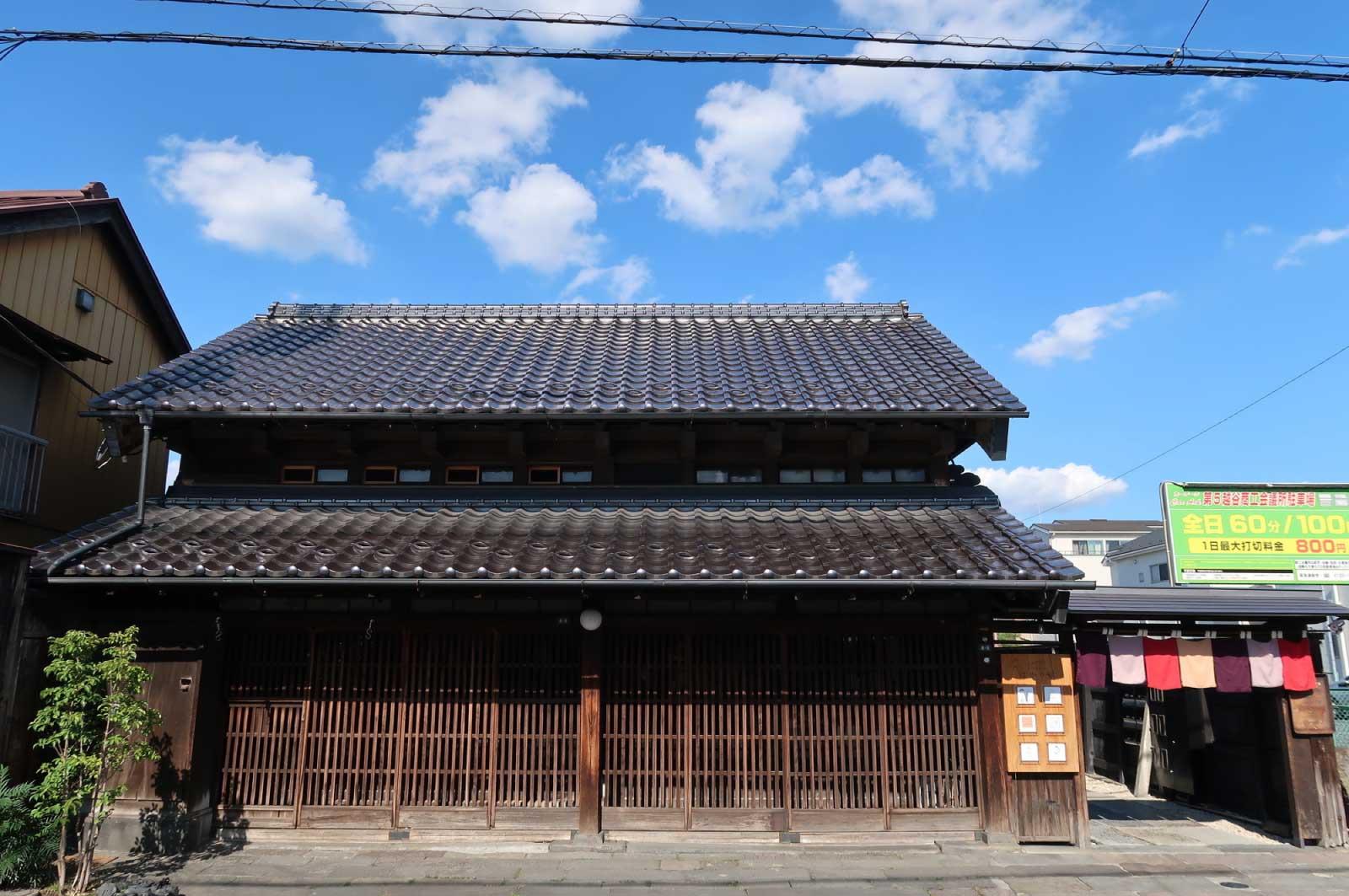 日光街道越ヶ谷宿
