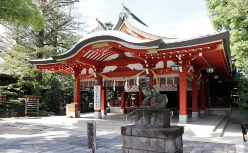 久伊豆神社(社殿)