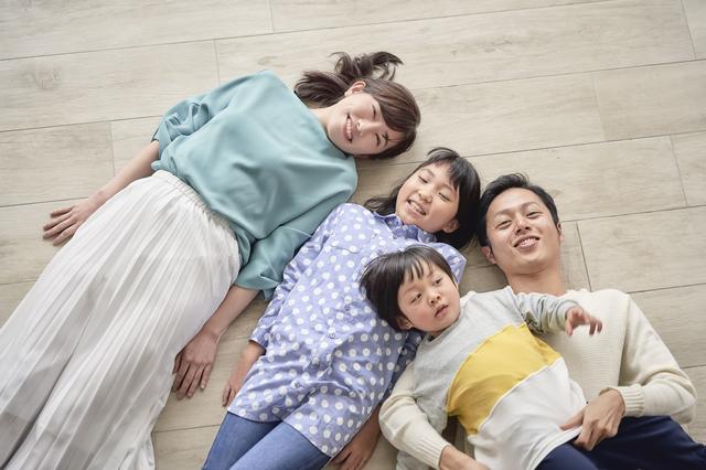 2人の子どもと妻の4人暮らし