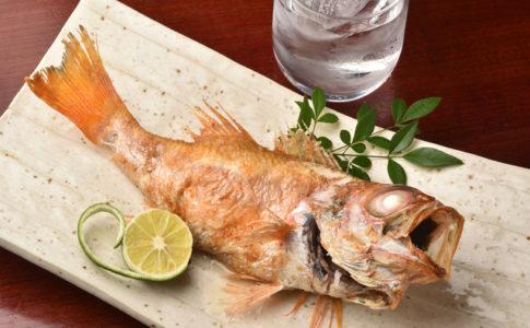 呉で食べた焼き魚