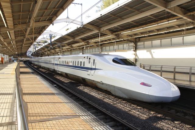 新幹線に乗って彼氏に会いに行く