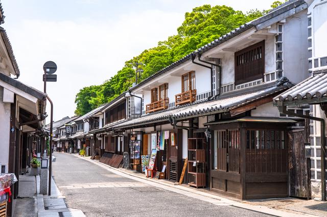 倉敷の街並みと景観
