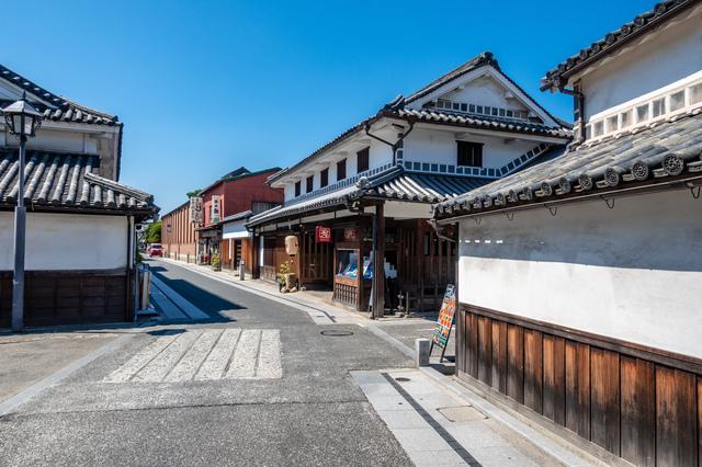 倉敷にある伝統建造物