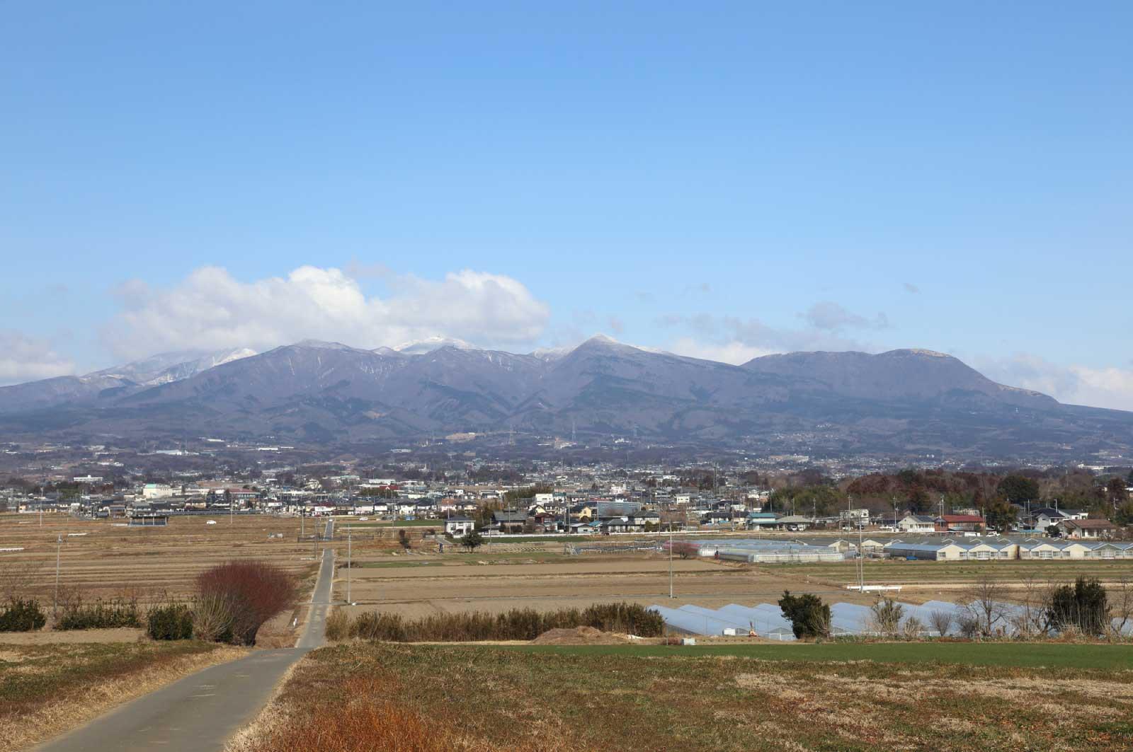 赤城山という呼び名は複数の連峰の総称