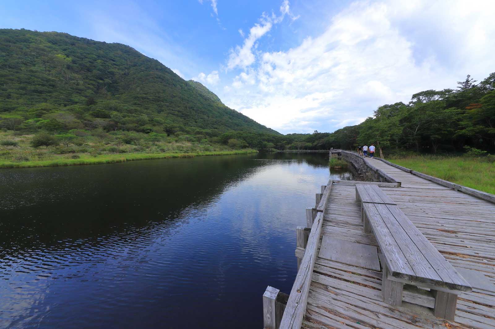 湖や沼など、水に関する自然スポットも充実