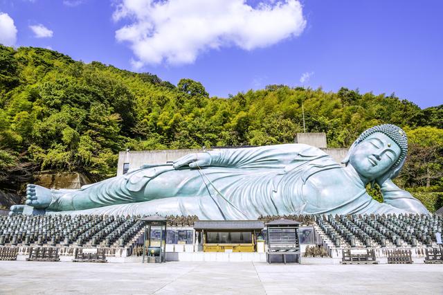 南蔵院の釈迦涅槃像(福岡)