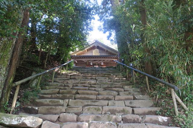 神魂神社(松江)の石段