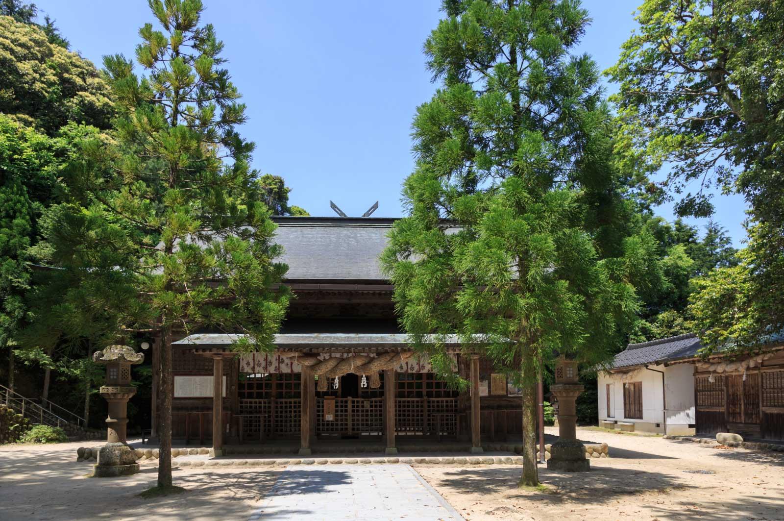 玉作湯神社(境内)
