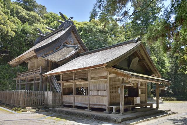 神魂神社(本殿)