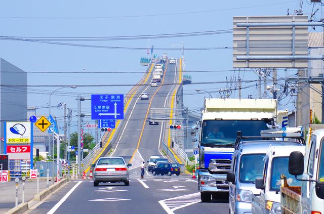 大根島にも続く江島大橋