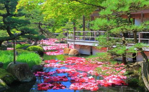 松江の日本庭園・由志園