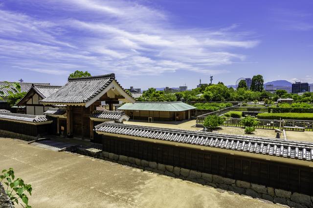 「美しい日本の歴史的風土100選」にも選定された松山城