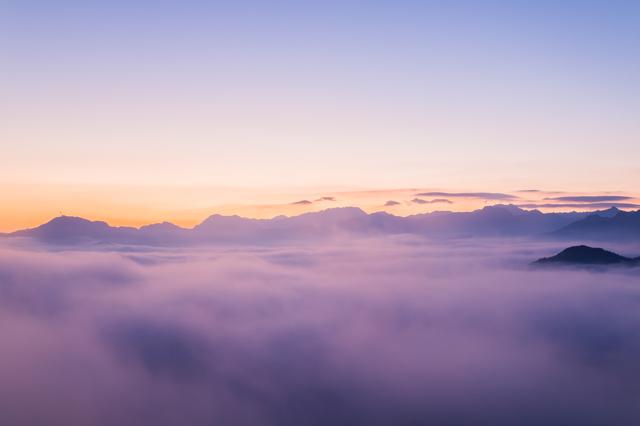 国見ヶ丘の雲海