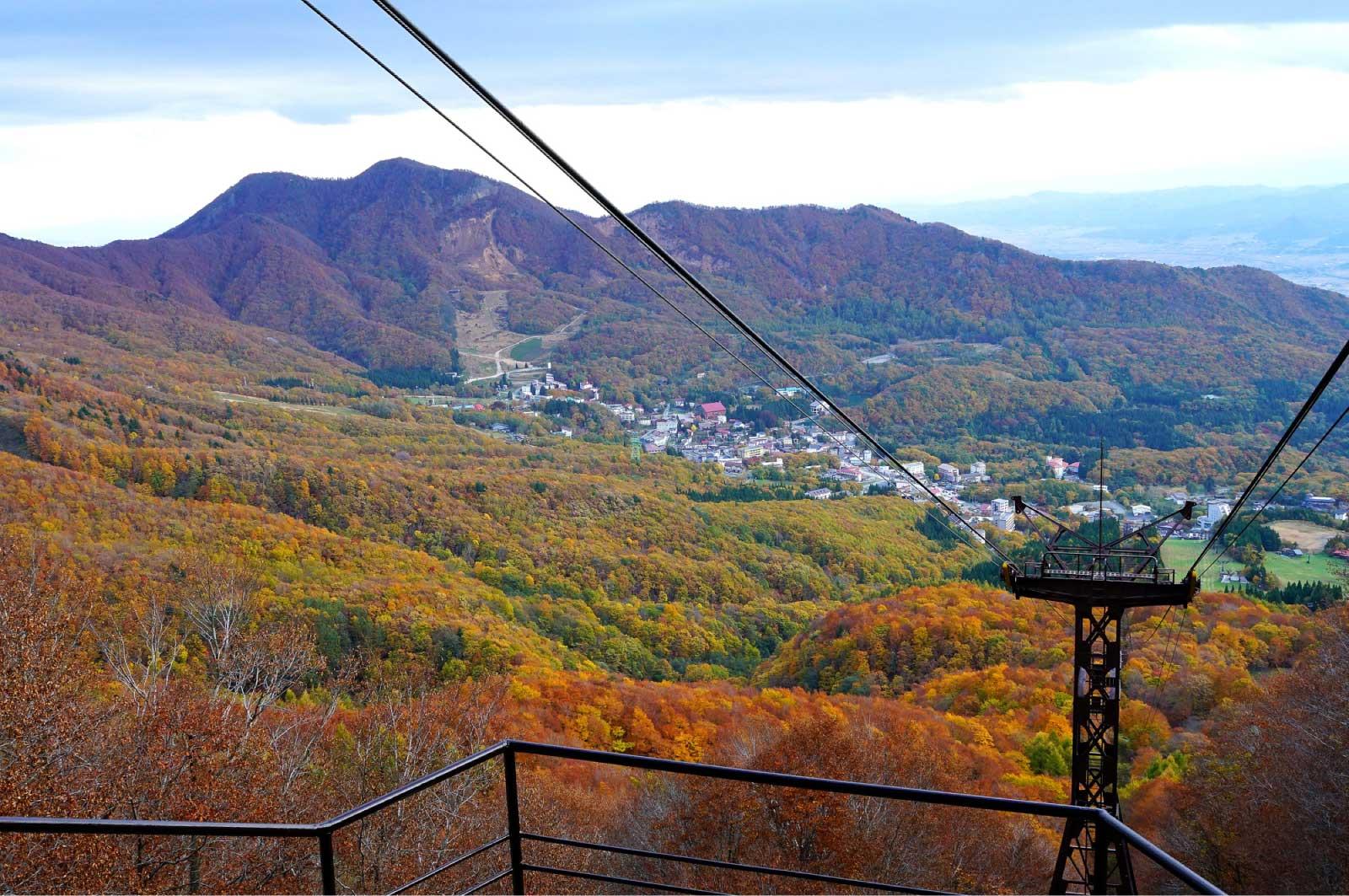 ロープウェイ(蔵王山)