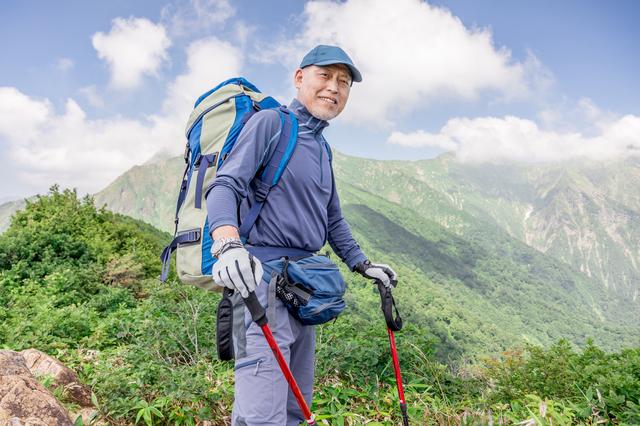山登りを始めた50代