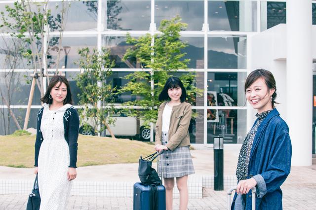 大学の友達と女子旅