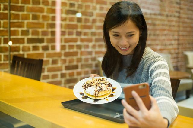 パンケーキ好きっていう女子も一気に増えてました