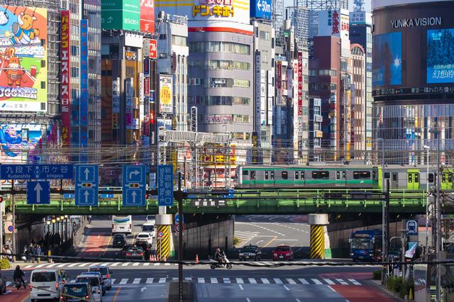 東京を走る山手線