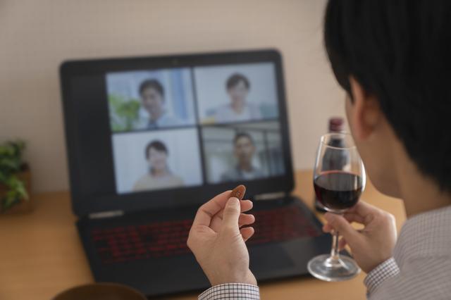 長崎からオンライン飲み会に参加