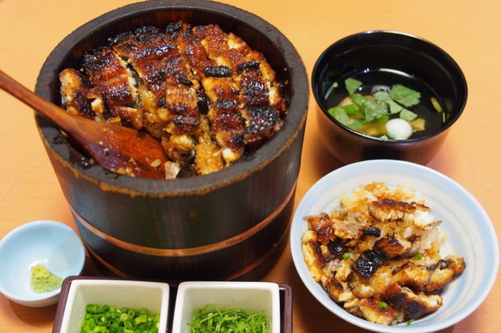 名古屋の誇る名物料理「ひつまぶし」