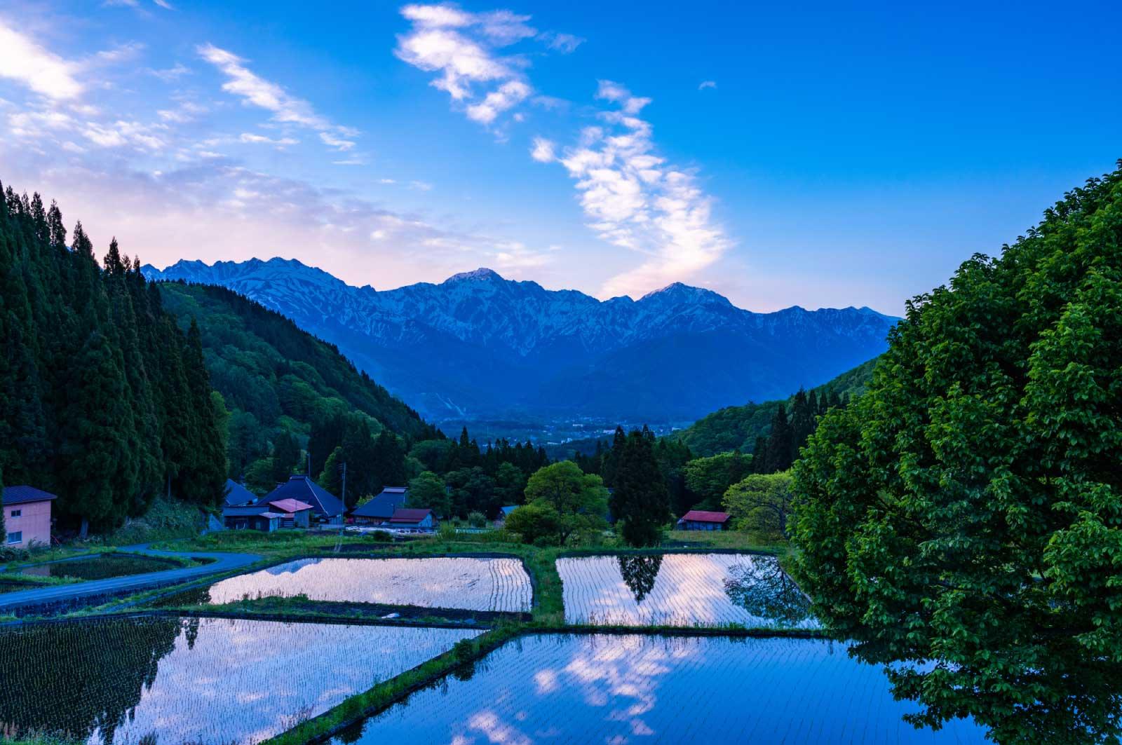 長野県は米の産地としても有名