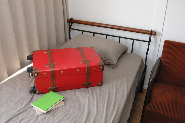 お気に入りの旅行鞄