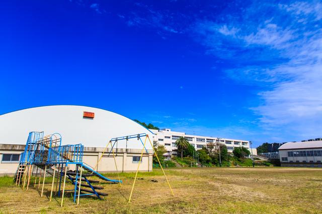 池島の小中学校