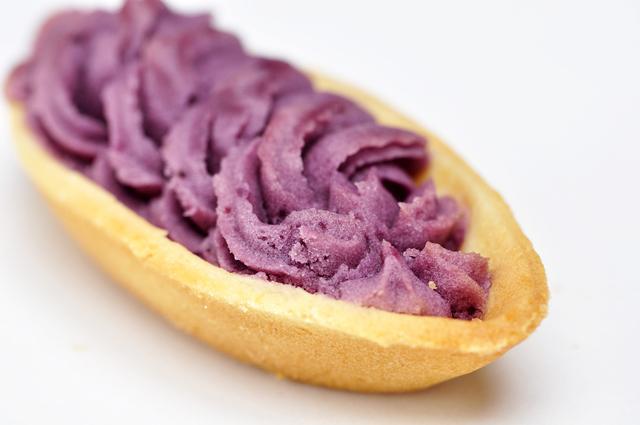 ポリフェノールが豊富に含まれる紅芋タルト