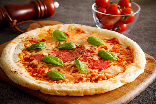 中目黒で食べたマルゲリータピザ