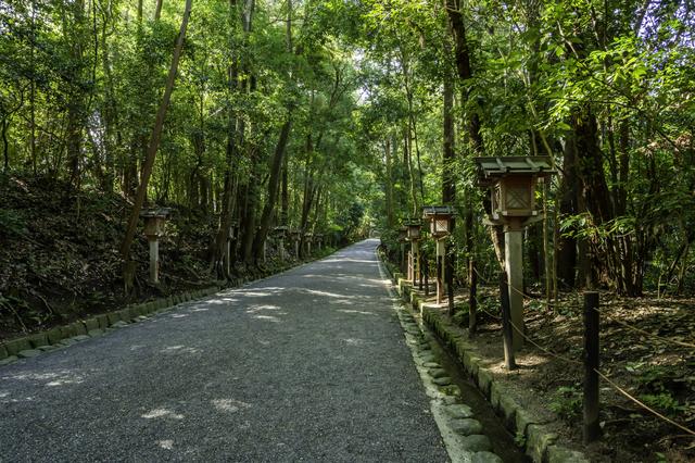 奈良・大神神社(山道)
