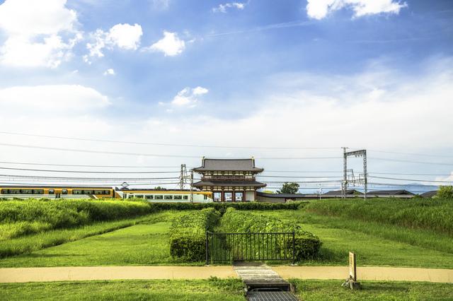 近鉄奈良線と平城宮