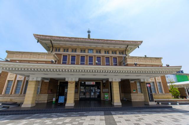 奈良駅(旧駅舎)正面