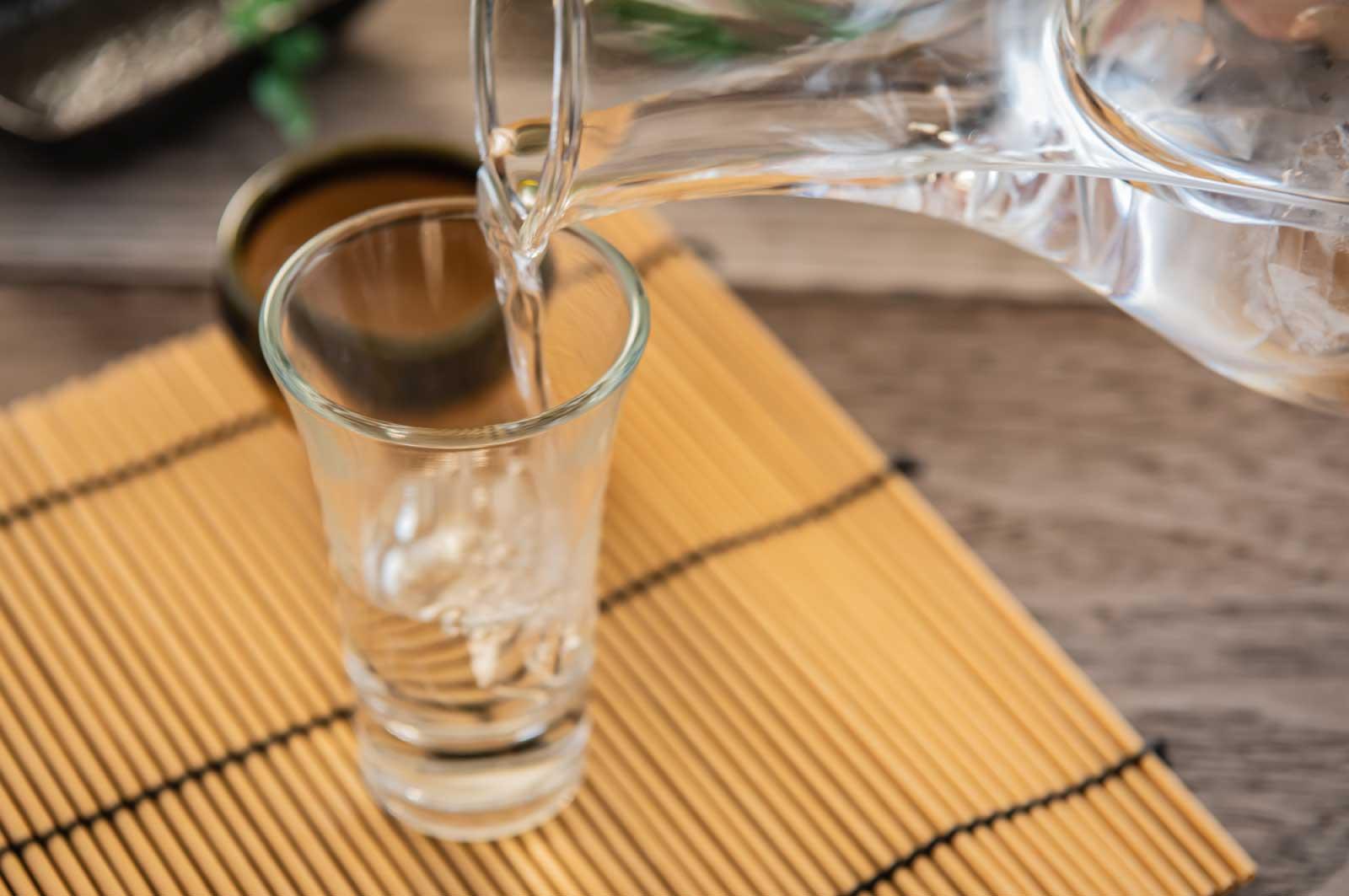 1番好きなお酒は日本酒です