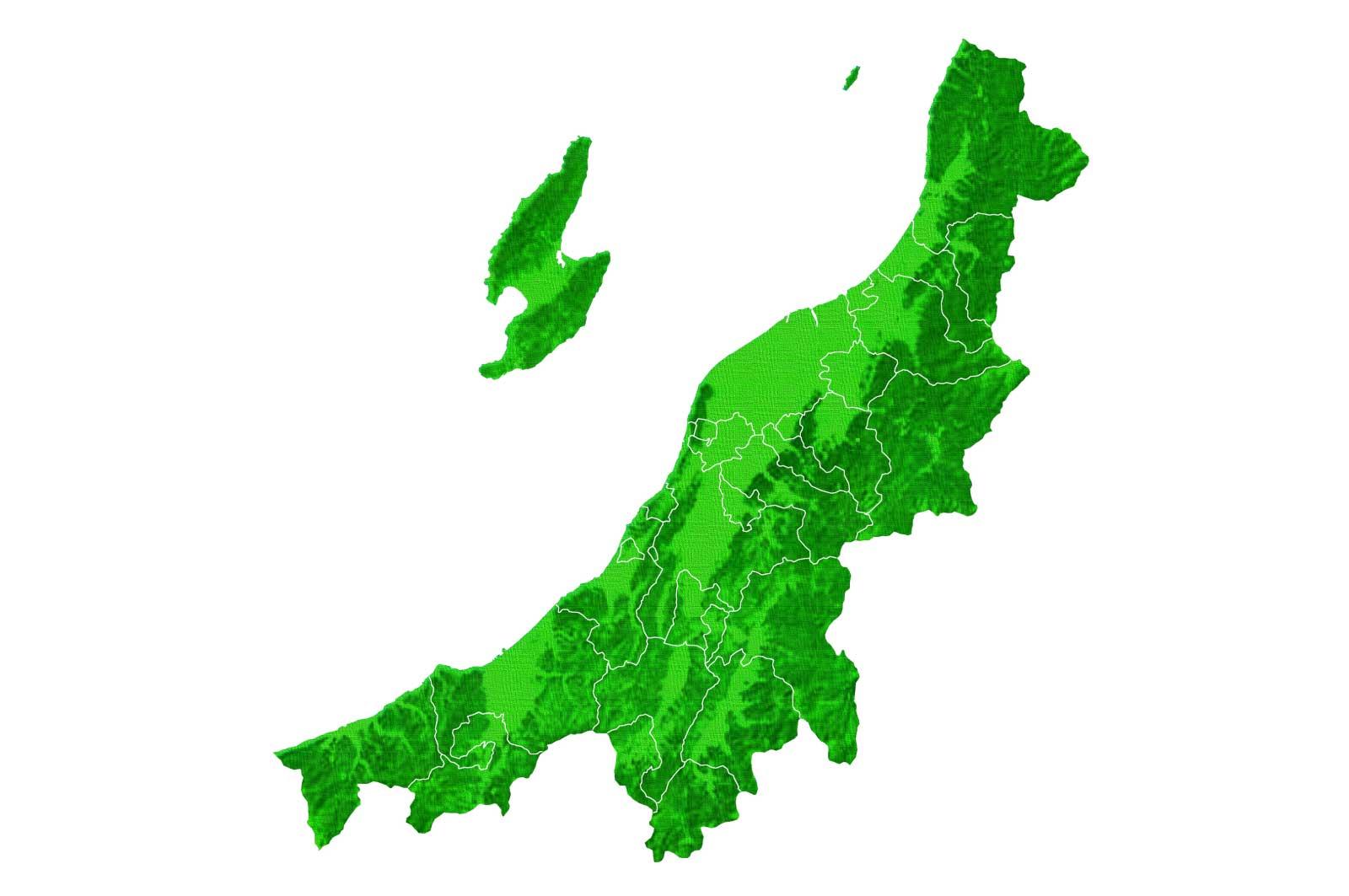 新潟は南北に非常に広い