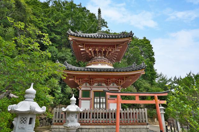 神呪寺(多宝塔)