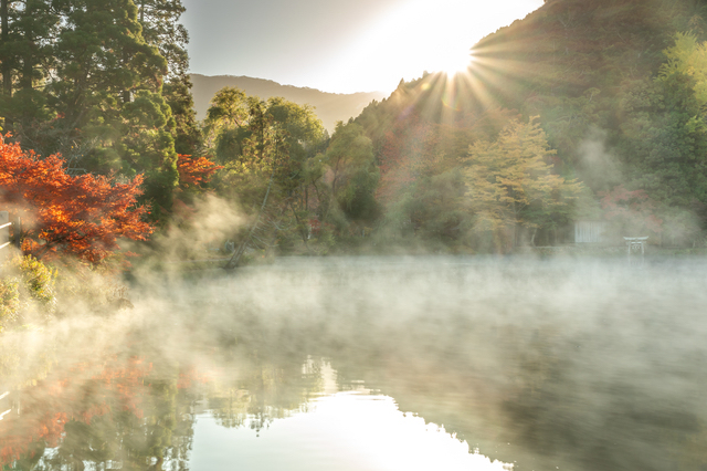 金鱗湖(湯布院・大分)