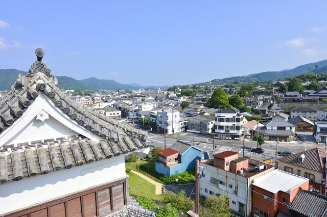 臼杵城の城下町