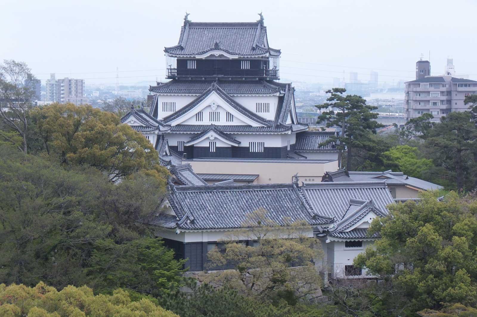 家康ゆかりの岡崎城