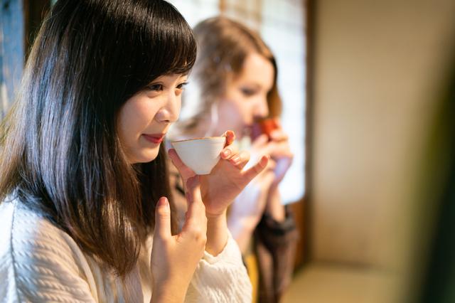 日本酒大好き女子