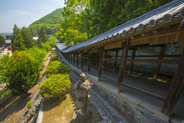吉備津神社の長い廊下