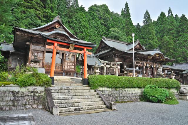 木山神社(岡山県真庭市)